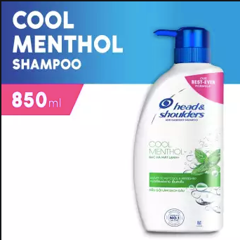 Head and Shoulders Cool Menthol 850ml