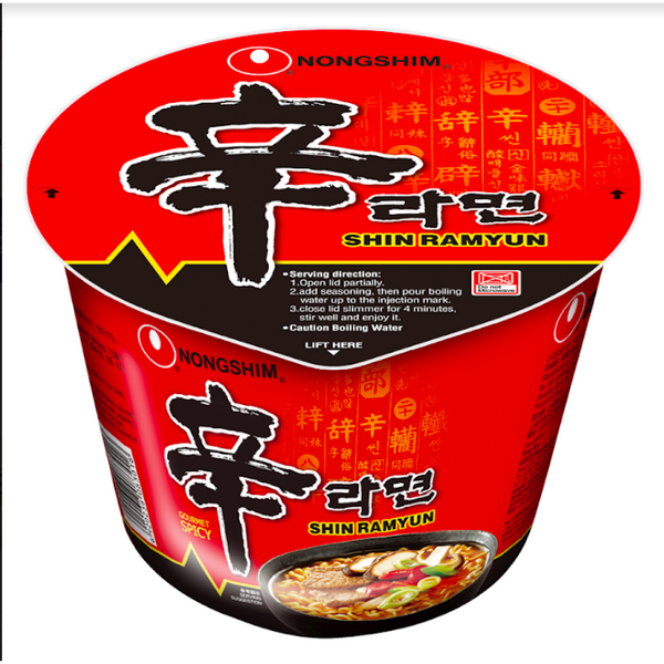 Shin Ramyun Big Bowl 114g