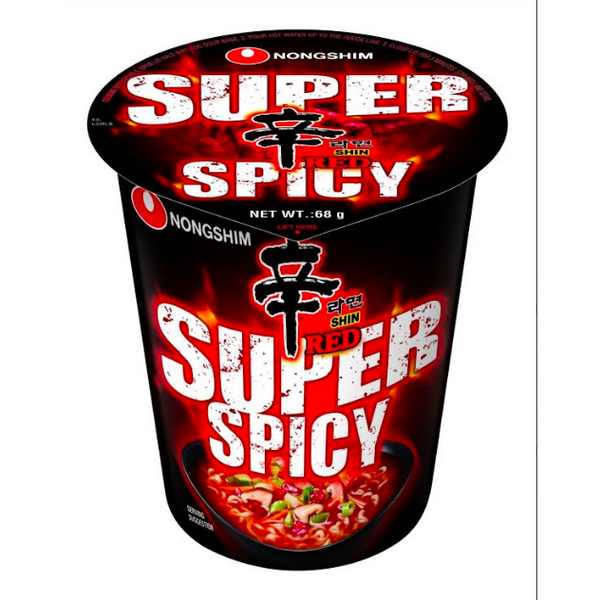 Super Spicy Shin Cup 120g