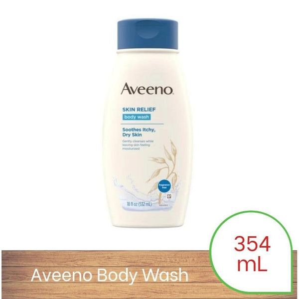 Aveeno Active Naturals Skin Relief Body Wash 354mL