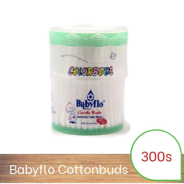 Babyflo Color Buds White 300s