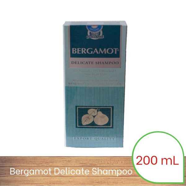 Bergamot Natural Delicate Shampoo 200ml - For Normal / Dry / Colored Hair