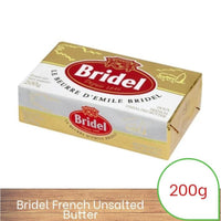 Bridel French Unsalted Butter 200g