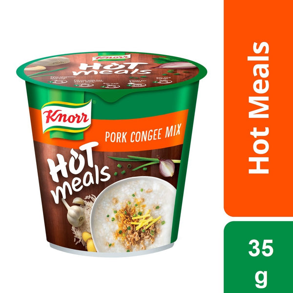 Knorr Cup Hot Meals Pork Congee 35g