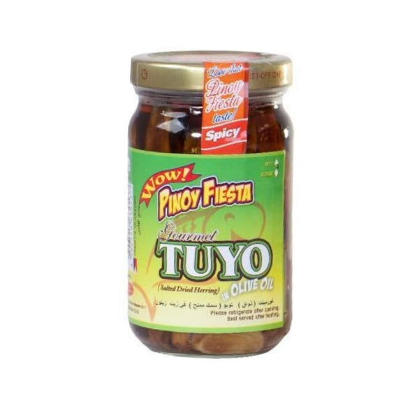 Spicy Tuyo in Olive Oil 220g