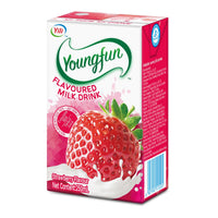 Youngfun Flavored Yogurt Drink 250ml x 6 - STRAWBERRY (PROMO PACK)