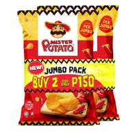 Mister Potato Chips Hot and Spicy 160g (2 for 150 Mega Deal)