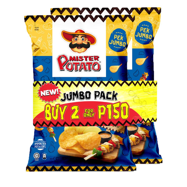 Mister Potato Chips BBQ 160g (2 for 150 Mega Deal!)