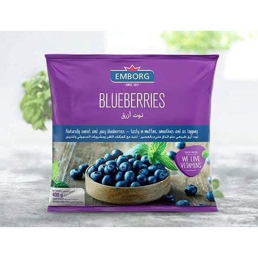 Emborg Frozen Blueberries 400g