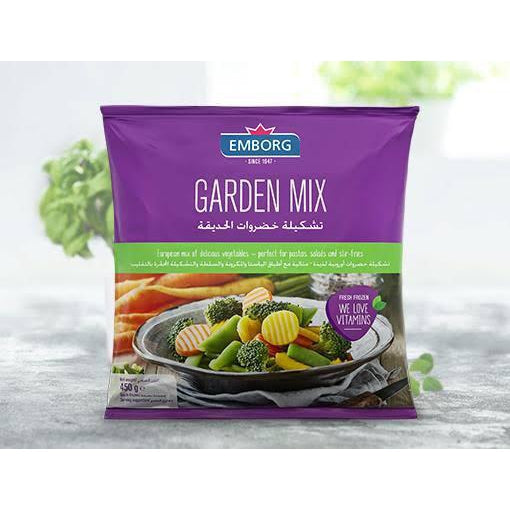 Emborg Frozen Garden Mixed Vegetables 450g