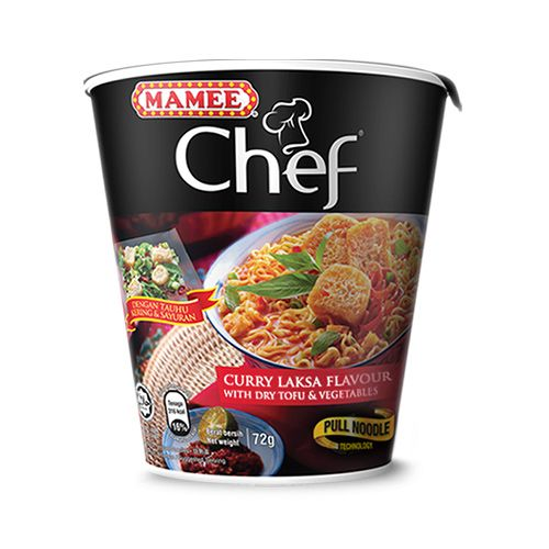 Mamee Chef Cup Curry Laksa 72g