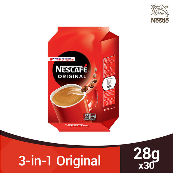 Nescafe 3-in-1 Original 28g x 30 Sachets