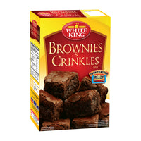 White King Brownie & Crinkle Mix 500g