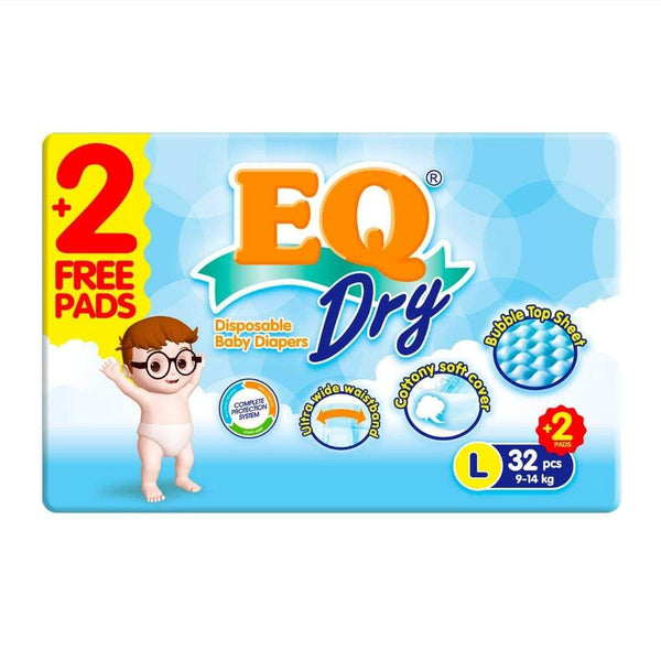 EQ Dry Diapers Econopack Large