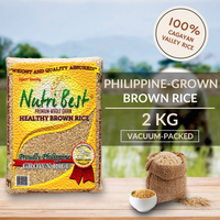 NutriBest Premium Wholegrain Healthy Brown Rice (Vacuum Pack) 2KG