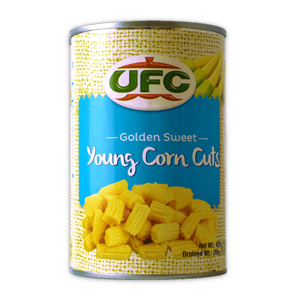 UFC Sliced Young Corn Cuts