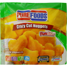 Purefoods Fun Nuggets Crazy Cut Shapes w/ Cheese 200g
