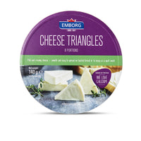 Emborg Cheese Triangles 140g