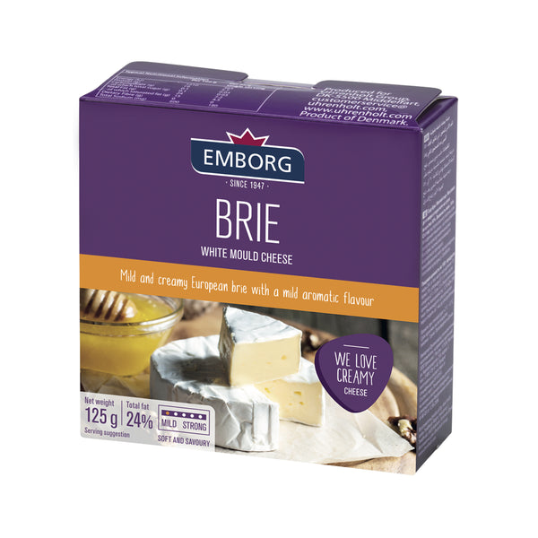 Emborg Brie Soft Cheese 125g