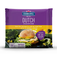 Emborg Processed Cheese Slices - Dutch