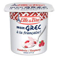 Elle & Vire Mon Grec Raspberry Natural Greek Yogurt 125g x2