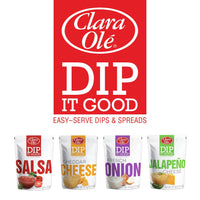 Clara Ole Cheese Dip - Dip it Good Jalapeno 120g