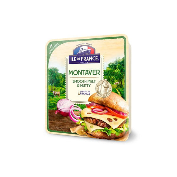 Ile de France French Natural Sliced Cheese - Montaver