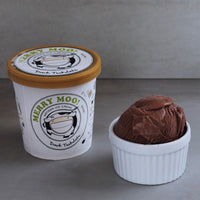 Merry Moo Artisan Ice Cream - Dark Chocolate 473ML