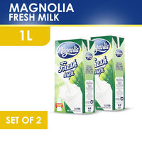 Magnolia Fresh Milk UHT 1L x 2 Pcs