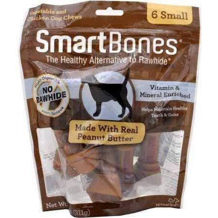 SmartBones Peanut Butter Small 6pcs