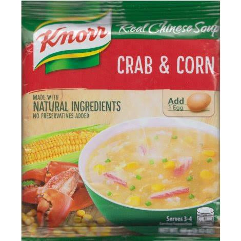 Knorr Soup Crab & Corn 60g