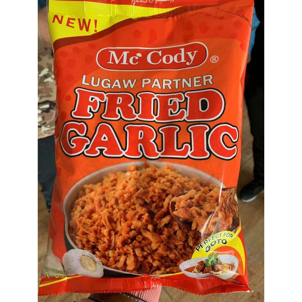 McCody Lugaw Partner Fried Garlic
