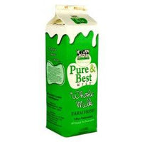 Pure and Best Whole Milk (Non-UHT, Pasteurized / Farm Fresh)