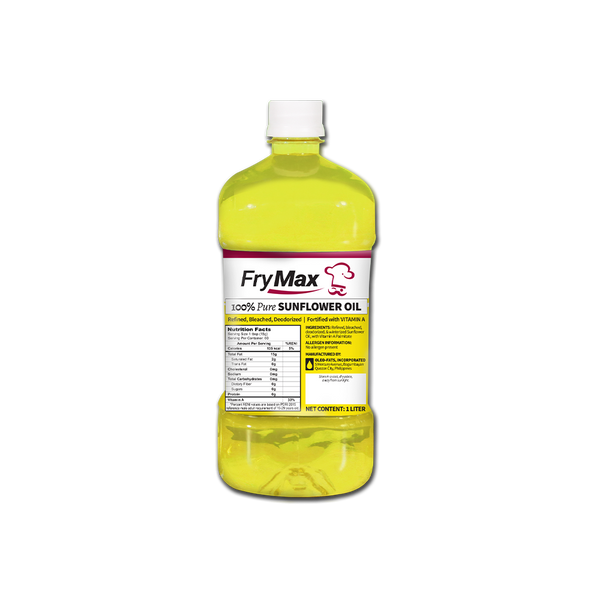 Frymax Sunflower Oil 1L