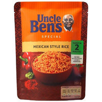 Uncle Ben's Mexican Style Rice 250g (Ready to Eat, Just Heat)