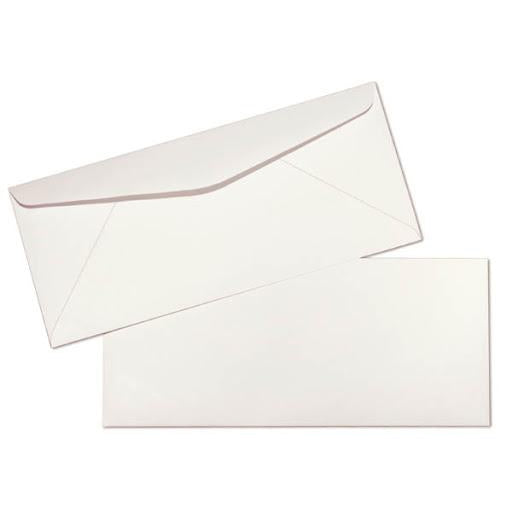 Classic White Envelope Long 500pcs/Box