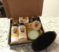 """Your Highness"" Father's Day Beard kit"