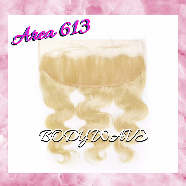 13x4 Free Part Frontal- 613 Body Wave