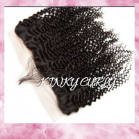13x5 Free Part Frontal- Kinky Curly