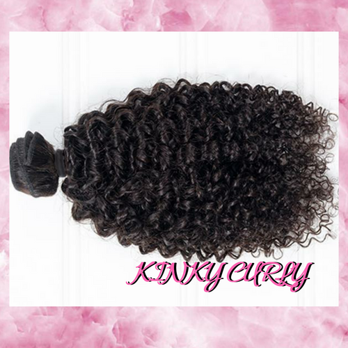 Virgin Brazilian Bundle - Kinky Curly