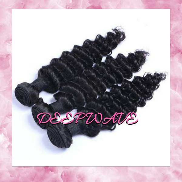 Virgin Brazilian Deep Wave -3 Bundles