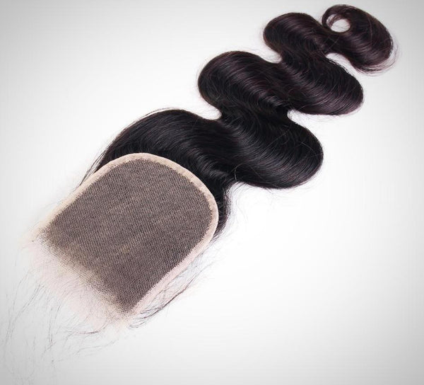 4x4 Free Part Closure- Body Wave