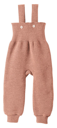 Knitted Trousers: Rose