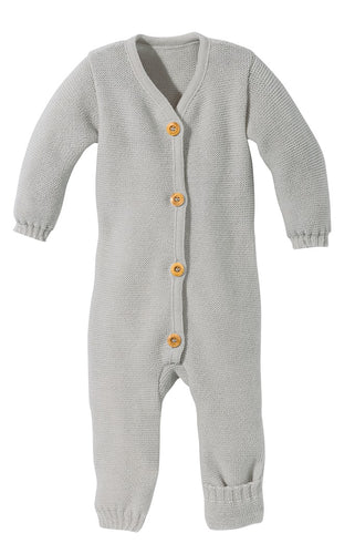 Knitted Overall: Grey