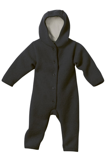 Boiled Wool Overall: Anthracite