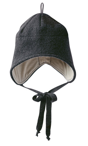 Boiled Wool Hat: Anthracite