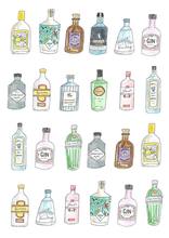 Load image into Gallery viewer, Cheers! Gin Card