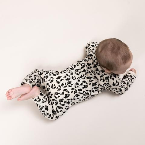 'Earth Leopard' Organic Cotton Onesie