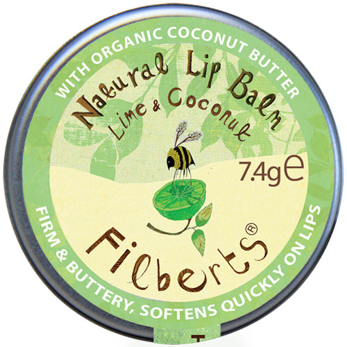 Lime and Coconut Natural Lip Balm