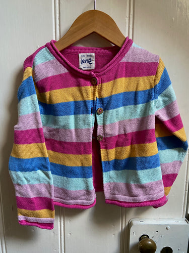 Preloved Kite Cardigan | 2-3 years
